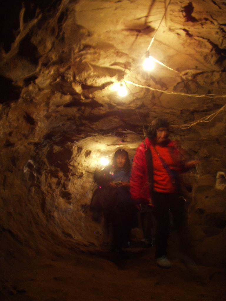 Picture of the inside of caves of Mines of Wanda
