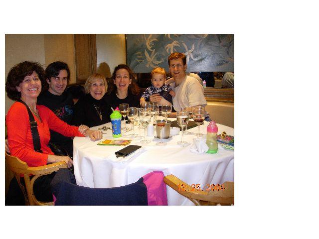 Carmen, Roberto, Erna, Carmen daughter, Daniel and their beautiful baby.