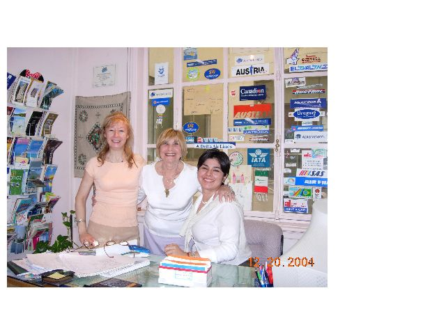 Graciela, Erna and Vanesa - A day in December 2004