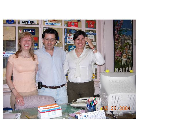 Graciela, Danielito and Vanesa - December 2004