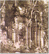 Picture of the mission ruins taken in 1915