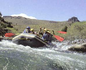 Water sports in Neuquen