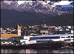 Ushuaia, the southernmost city in the world.