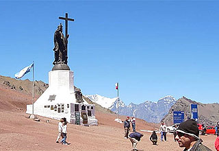 Cristo Redentor - Border with Chile in Las Cuevas